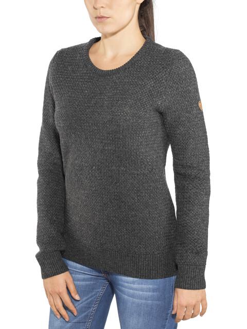 Fjällräven Övik Structure Sweater Women Dark Grey